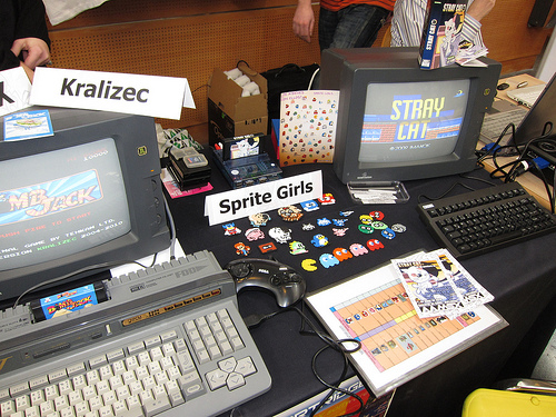 AAMSX / Sprite Girls / Kralizec / MSX Cartridge Shop